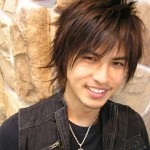 Emo Hairstyle for Asians