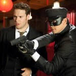 Seth Rogen and Jay Chou as action heroes in The Green Hornet