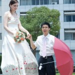Asian grooms, you don't have to let your White bride down on her interracial wedding day.